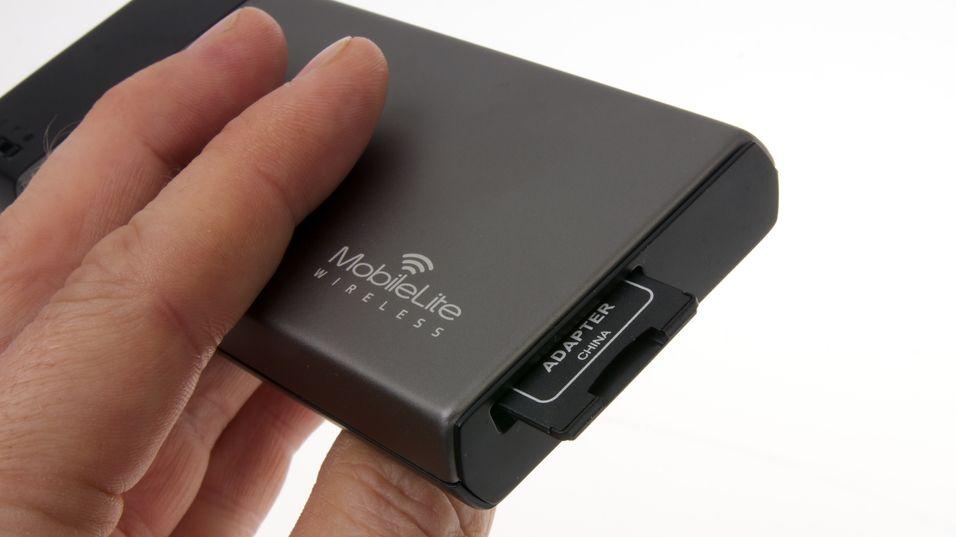 DAGENS DINGS: Trådløs disk og kortleser til mobilen