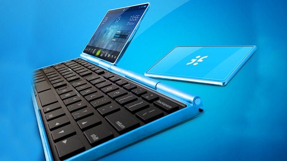 Smarttelefon, nettbrett og bærbar PC i ett