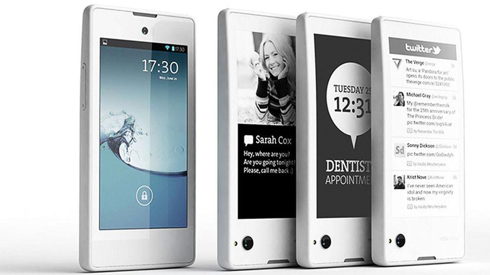 YotaPhone 2 er allerede på vei
