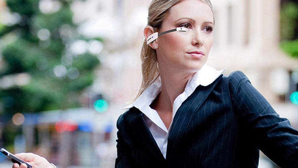 Disse smartbrillene slår Google Glass på målstreken