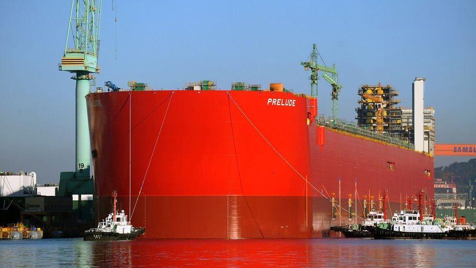 Her er verdens største skip