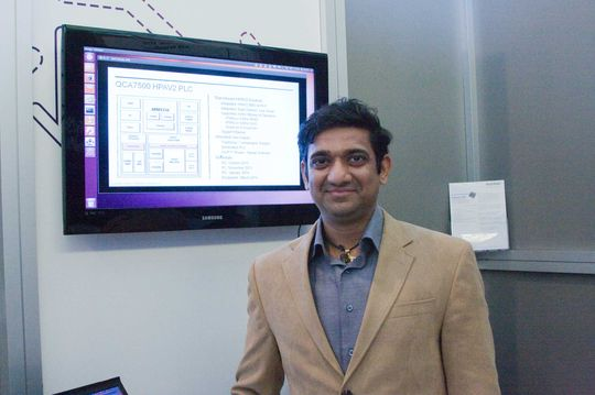 Purva Rajkotia i Qualcomm forteller at Homeplug-teknologi nå bygges inn i alt fra kjøleskap, tv-apparater til el-biler.