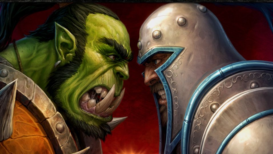 Orkene og menneskene går i tottene på hverandre i Warcraft-filmen.