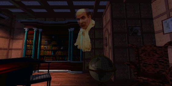 Henry Stauf spøker i biblioteket.