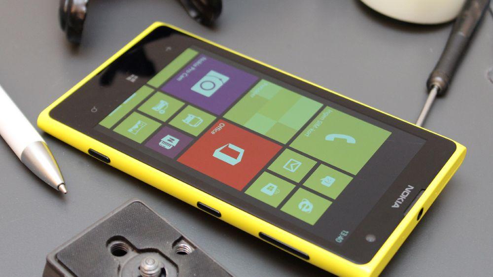 Nokia Lumia 1020 har best kamera av modellene i denne sammenlikningen.
