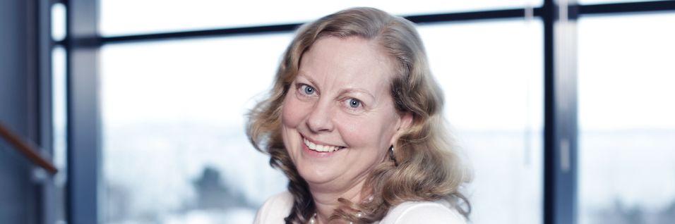 Telenor Norge-sjef Berit Svendsen lover at de nye frekvensene skal gi bedre mobildata-dekning for kundene.