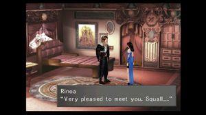 Kjærlighetshistorien mellom Squall og Rinoa er et av hovedfokusene i Final Fantasy VIII.