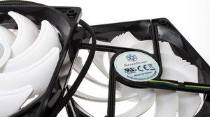 En oppfrisket design på viftene vil bidra til mer stillegående kjøling, mener Silverstone.
