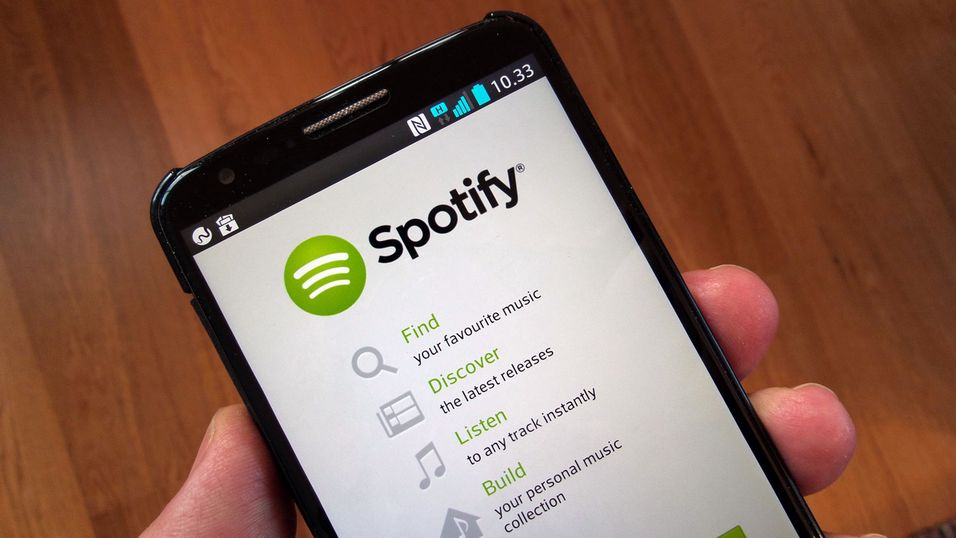 Spotify gjør musikk på mobilen gratis