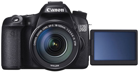 Canon 70D kan skilte med gode videoegenskaper.