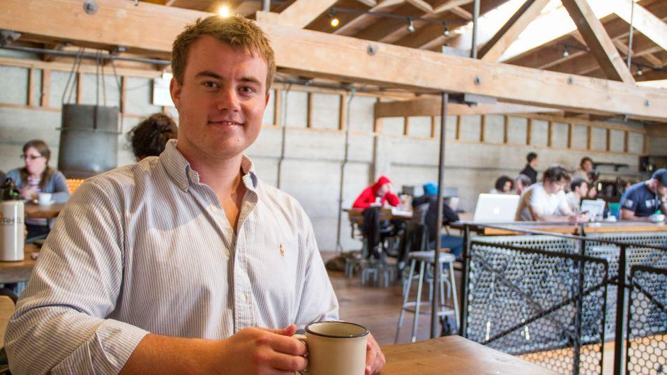 23-åring reiste til Silicon Valley for å lansere annerledes app