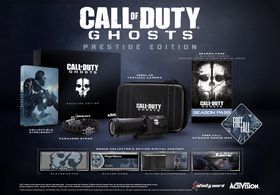 Call of Duty: Ghosts Prestige Edition.