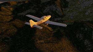 Et stilig lite fly (bilde: Laminar Research).