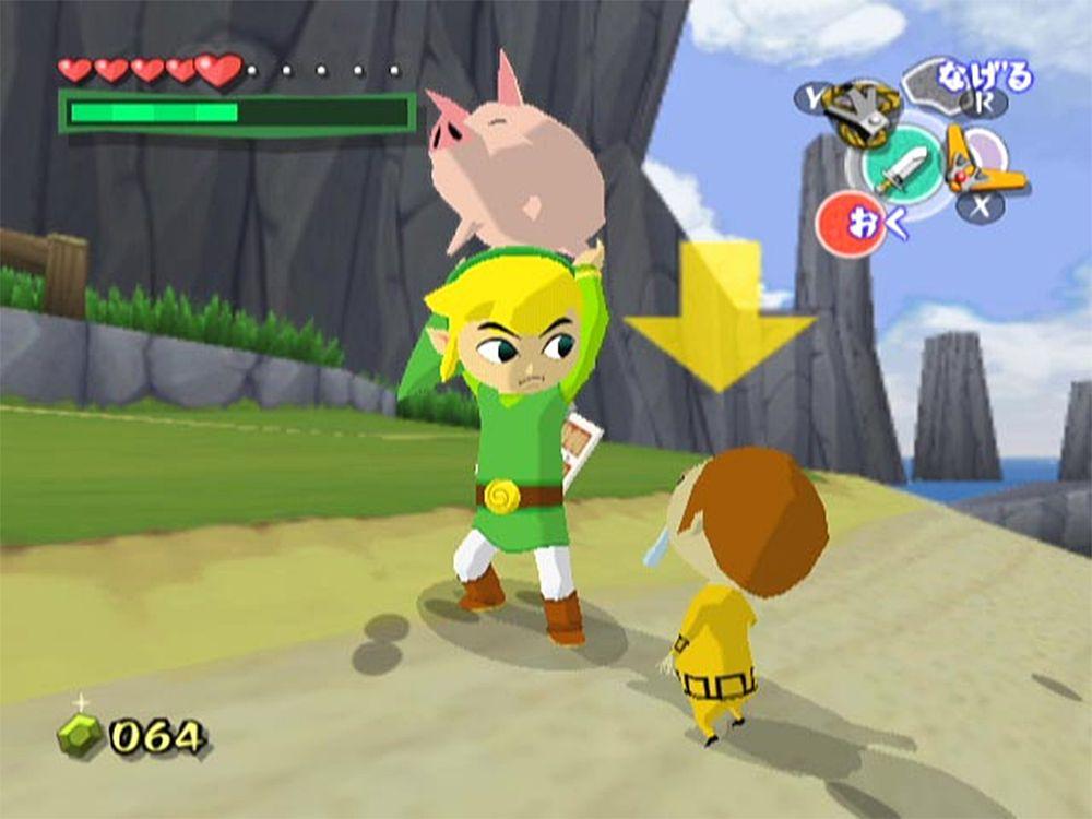 The Legend of Zelda: Wind Waker.