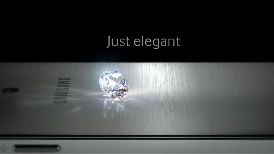 Samsung lokker med metall