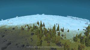 Spillet foregår i dataskapte omgivelser.