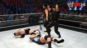 Typisk situasjon i en «tag team»-kamp.
