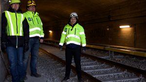 Telenor er nå i full gang med å bygge 3G- og 4G-dekning i T-banetunnelene.