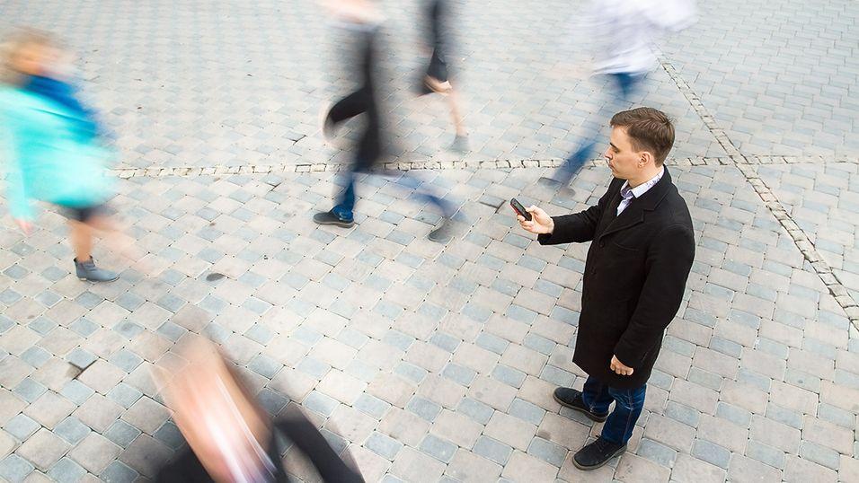 Ny telefon nekter å la deg tekste mens du går