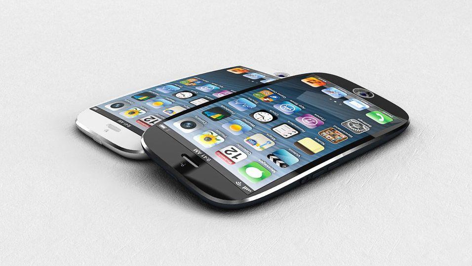 Apple tar patent på kurvet skjerm