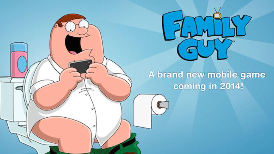 Family Guy blir mobilspill