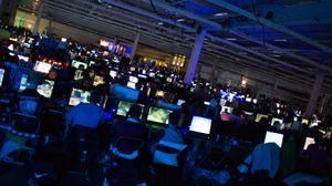 Dette var bare én av flere saler for LAN-deltakerne på DreamHack.