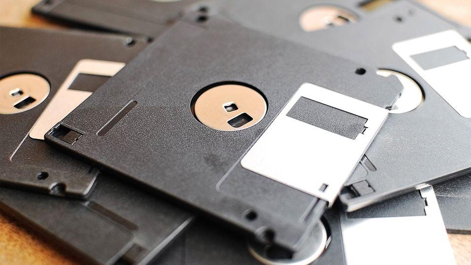 Statlig byrå bruker fremdeles disketter
