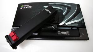 Som dere ser på de manglende DVI- og HDMI-inngangene er dette ikke en av de ferdige produksjonsmodellene som kommer for salg.
