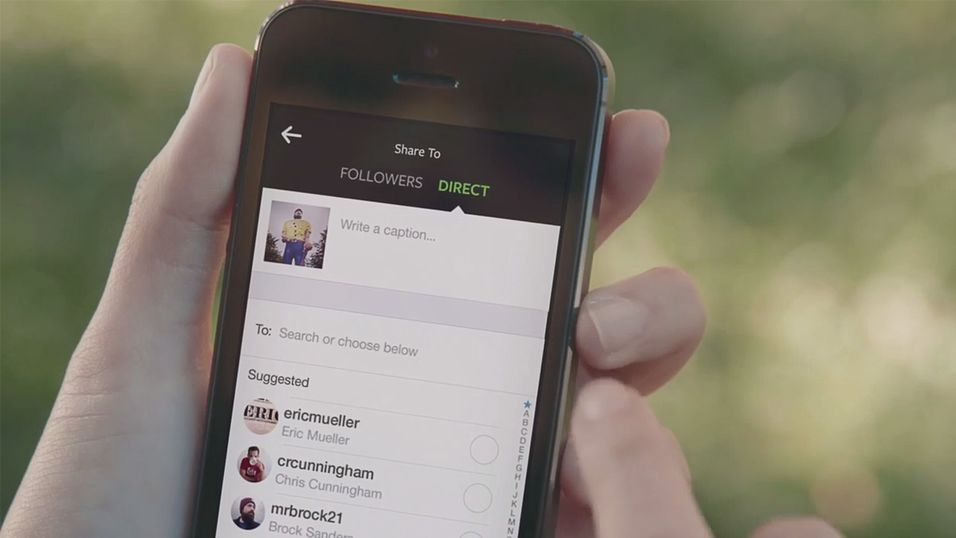 Instagram utfordrer Snapchat