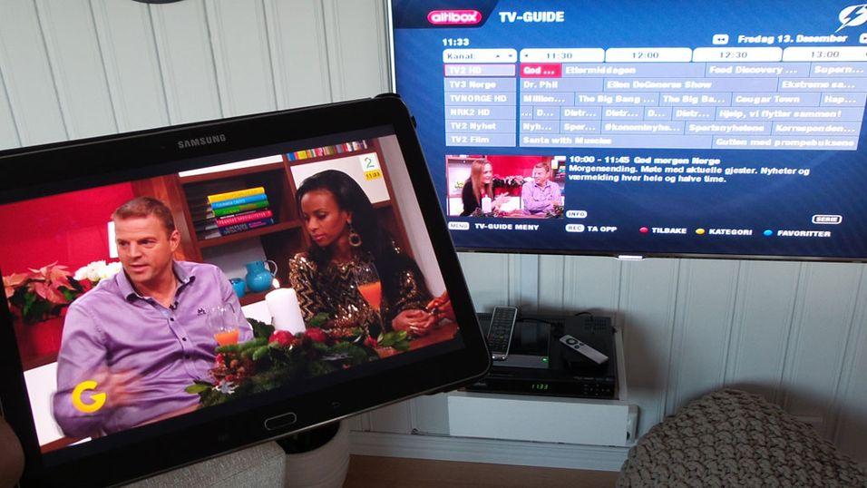 TV Overalt-appen klar for Android
