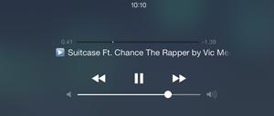 Du kan nå spille musikk fra nettsider direkte fra låseskjermen på iPad-en.