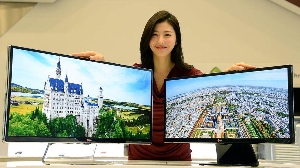 LG lanserer ultrabred 4K-skjerm