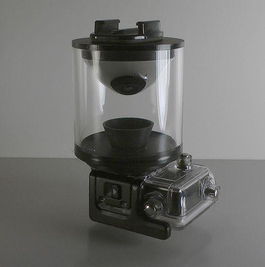 Eye Mirror med egen GoPro-kasse.