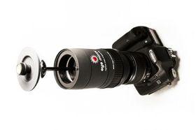 Eye Mirror montert på Canon EOS 7D.