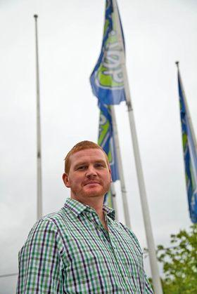 Øystein Schmidt, kommunikasjonssjef i Elkjøp Nordic AS.