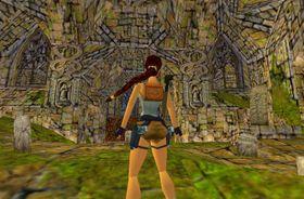 Lara Croft for 17 år sidan.
