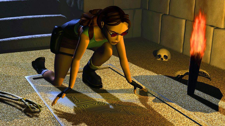 Første Tomb Raider er ute på iOS