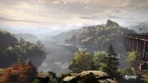 Et landskapsbilde fra spillet. (bilde: The Astronauts).