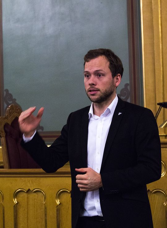 Audun Lysbakken, Sosialistisk Venstreparti.