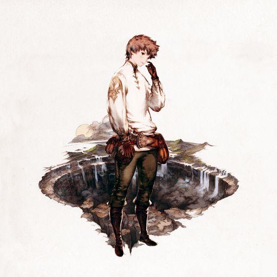 Tiz Arrior vil redde verda etter å ha mista heimbyen sin. (Foto: Square Enix).