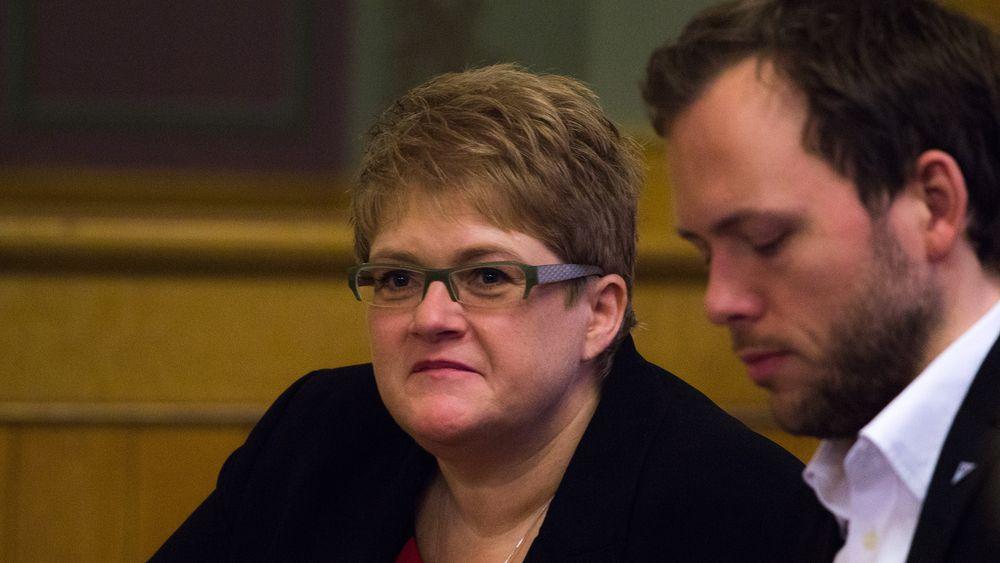 Venstreleder Trine Skei Grande og SV-leder Audun Lysbakken er begge mer enn klare for en omkamp om EUs datalagringsdirektiv.