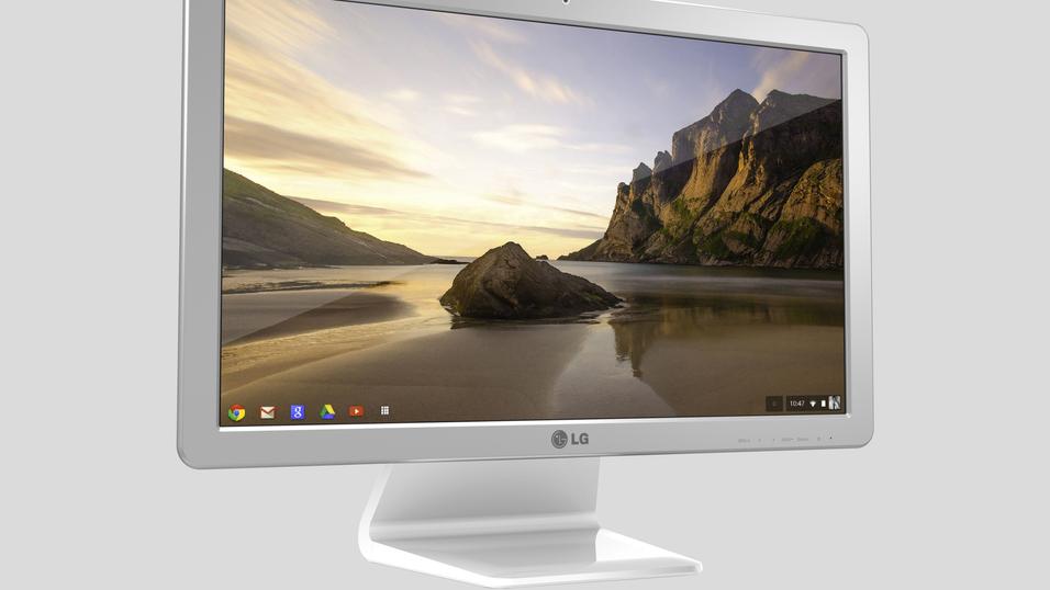 LG Chromebase.