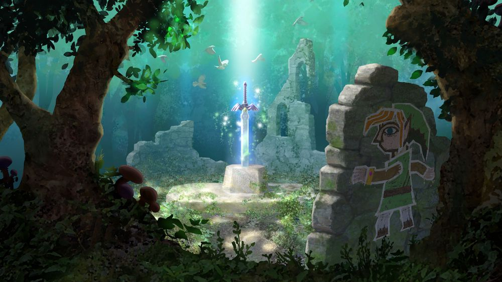 ANMELDELSE: The Legend of Zelda: A Link Between Worlds