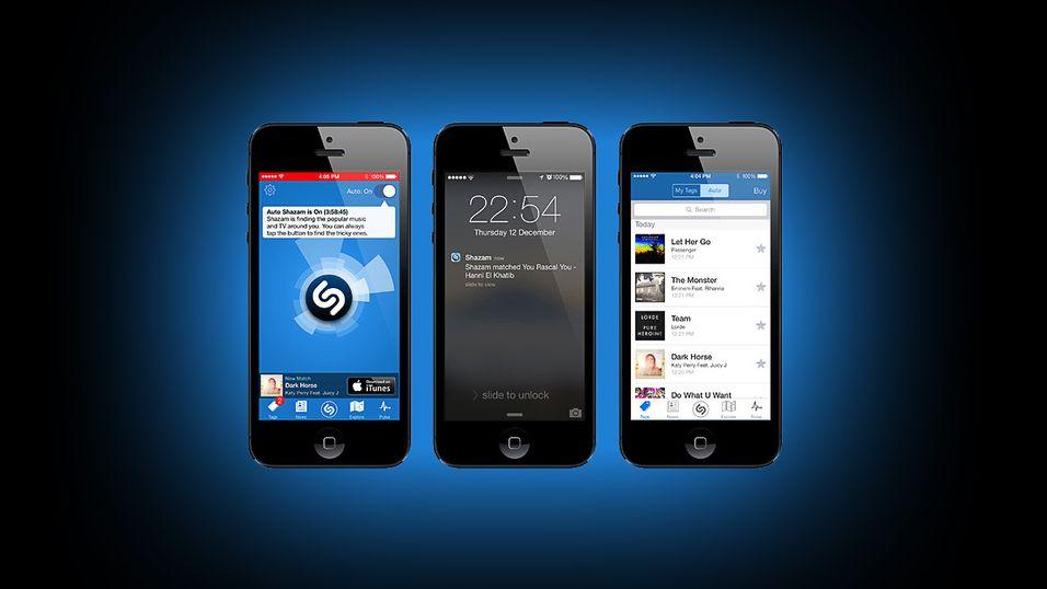 Nå kan Shazam gjenkjenne låter automatisk
