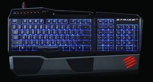 S.T.R.I.K.E. 3 Gaming keyboard.