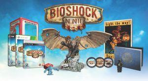 Samlerutgaven av BioShock Infinite.