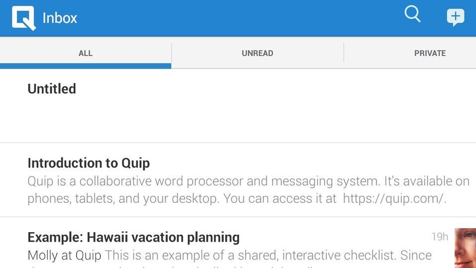 Quip er den mobile tidsalderens Microsoft Office