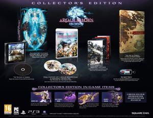 Samlerutgaven av Final Fantasy XIV. .