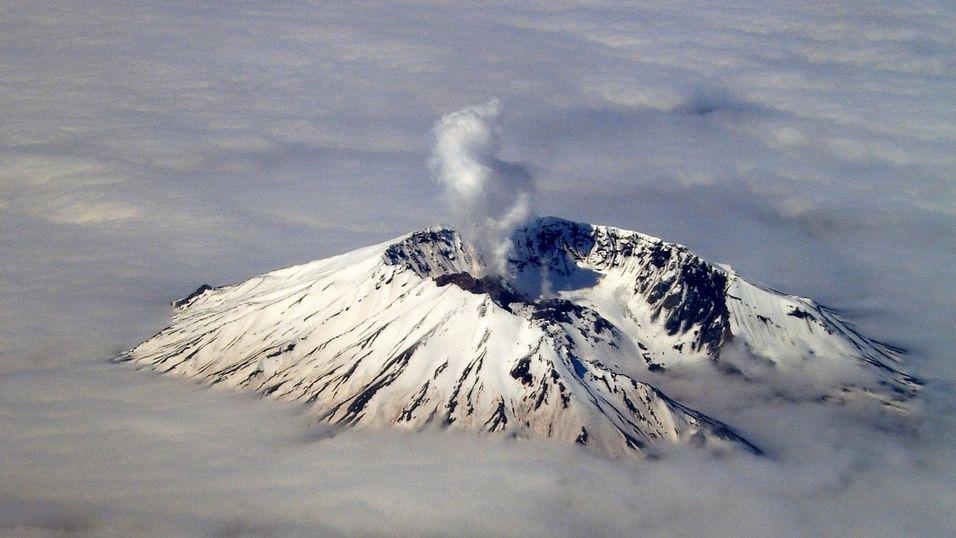 Mount St. Helens i dag.