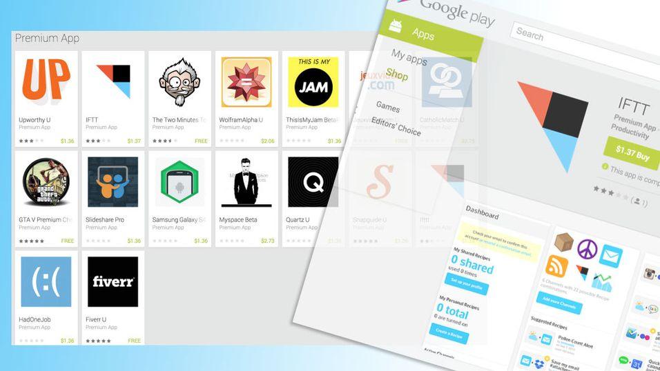 Lurer Android-brukere med falske apper